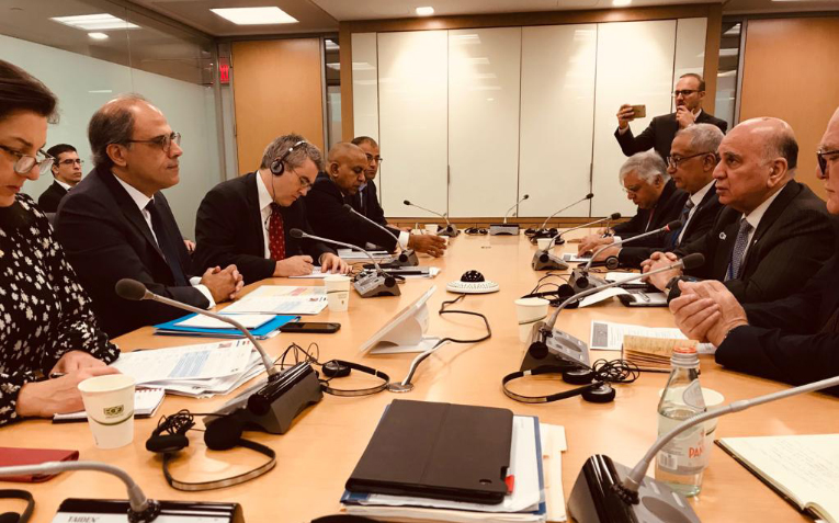 Deputy Prime Minister for Economic Affairs and Minister of Finance participates in the meetings of the International Monetary Fund Mof3
