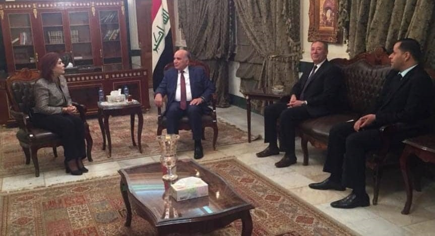 Deputy Prime Minister for Economic Affairs The Minister of Finance receives the Ambassador of the Hashemite Kingdom of Jordan in Baghdad and the Ambassador of the Republic of Iraq in Amman 45367119_2394538830766155_1413428571237515264_n