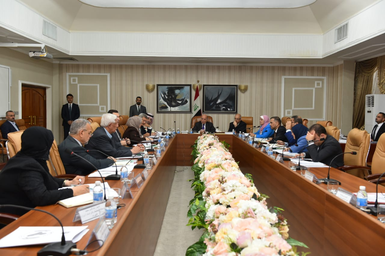 Deputy Prime Minister for Economic Affairs and Minister of Finance chairs the eighth meeting to prepare the strategy of the state budget for the year 2020_2022 %D8%B3%D8%B3%D8%B3