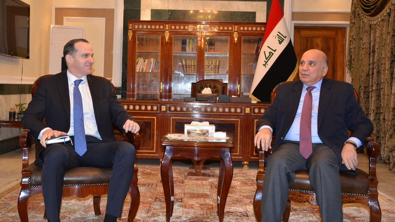 Deputy Prime Minister for Economic Affairs and Minister of Finance receives US special envoy to Iraq 0512c36c-291f-4806-b1dd-5e73bb8080d2