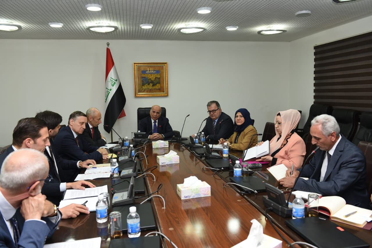 Deputy Prime Minister for Economic Affairs and Minister of Finance chairs a joint meeting with some EU Ambassadors, tax, customs and budget departments 0f6c4af6-fb00-4d26-b518-b65b4ae4cec0