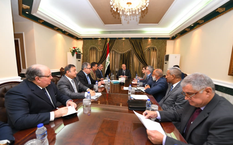 Deputy Prime Minister for Economic Affairs and Finance Chairs Joint Meeting with the Minister of Labor and Social Affairs and Representatives of the World Bank and the United Nations for Project Services 17