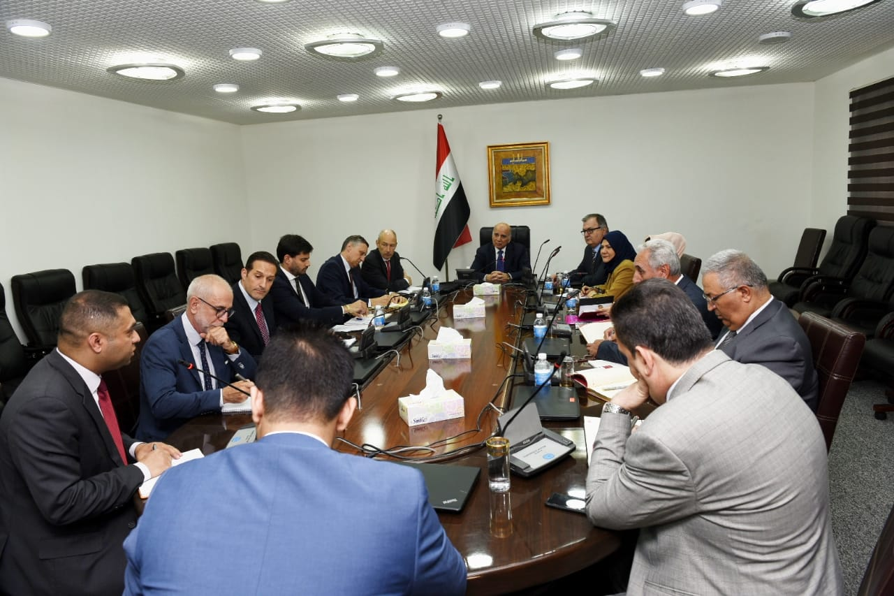 Deputy Prime Minister for Economic Affairs and Minister of Finance chairs a joint meeting with some EU Ambassadors, tax, customs and budget departments 2120766b-aed0-4d53-9ed3-7a57c87420d8