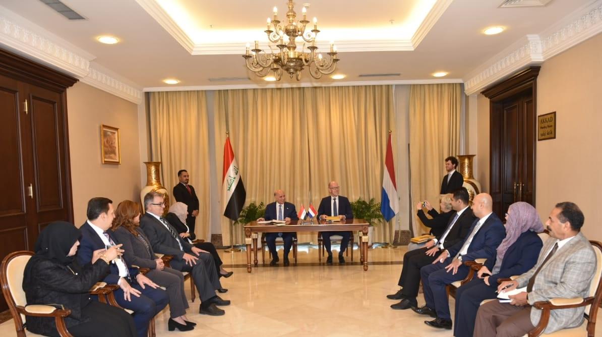 Iraq and the Netherlands sign a double taxation avoidance agreement 2a89ebd9-46de-48b9-9739-631c2aa621d3