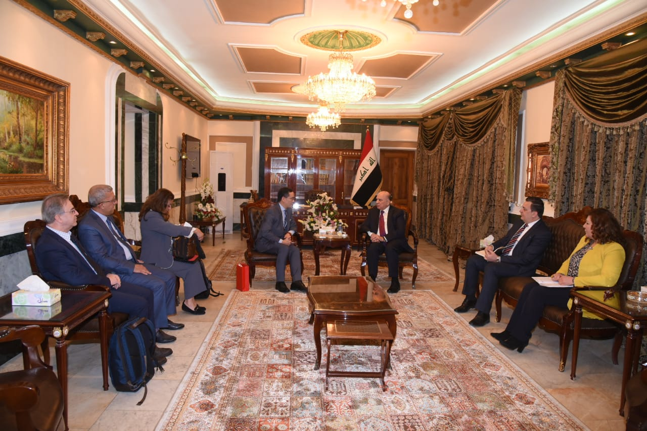 Deputy Prime Minister for Economic Affairs and Minister of Finance receives the President of the China Railway Company 388449b6-0c8a-4c74-9e64-e128099b876a
