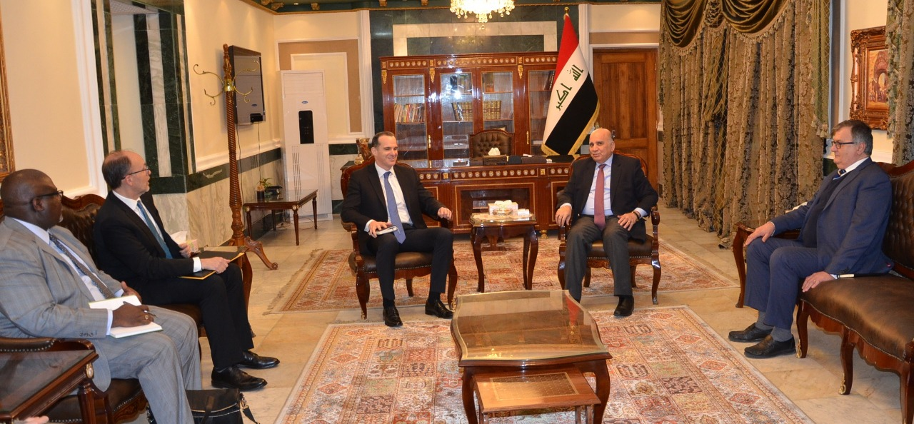 Deputy Prime Minister for Economic Affairs and Minister of Finance receives US special envoy to Iraq 3f825862-ac2e-4af7-bd34-2e8436b34e02