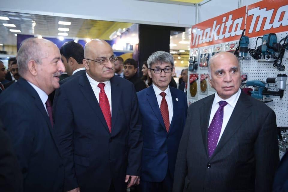 The launch of Baghdad International Fair on Saturday 46053384_285861515596520_3540850804955021312_n