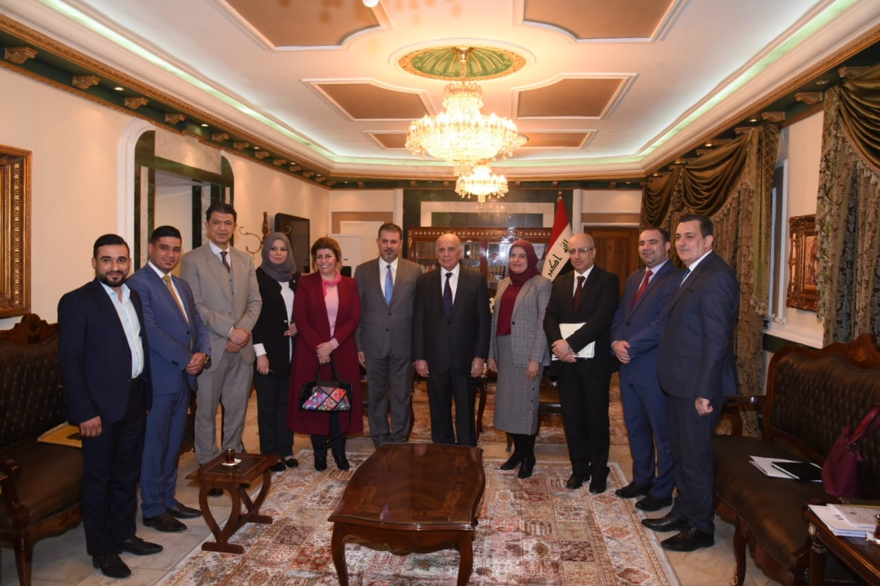 Deputy Prime Minister for Economic Affairs and Minister of Finance receives the head of the media network and a delegation from the network 52857c38-1814-4a9d-a5b4-e9921ae0ca8c