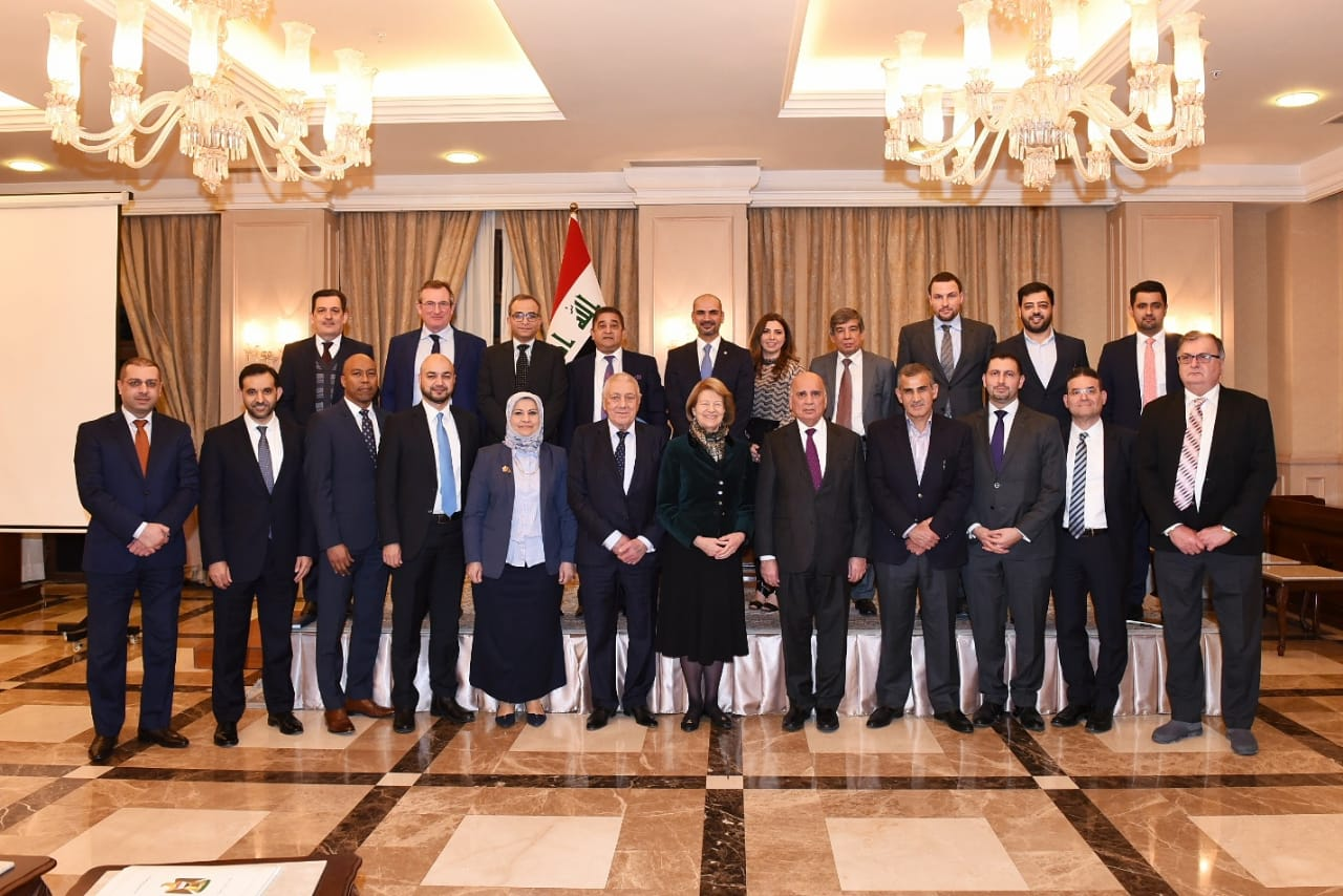 Abdul-Mahdi: Iraq's stability provides an opportunity to increase the efforts of construction and reconstruction IMG-20190211-WA0012