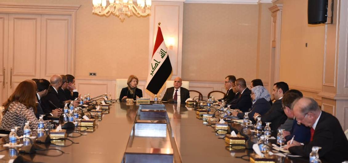 Abdul-Mahdi: Iraq's stability provides an opportunity to increase the efforts of construction and reconstruction IMG-20190211-WA0015