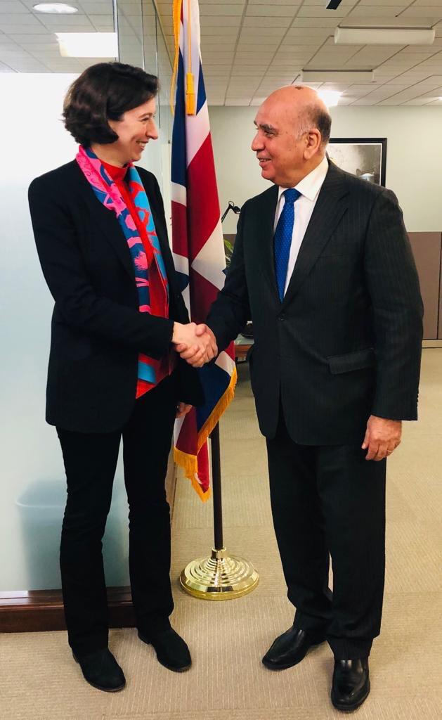 Iraq discusses with the World Bank its role in supporting economic growth and reconstruction IMG-20190414-WA0085