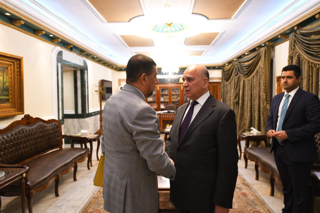 Deputy Prime Minister for Economic Affairs and Minister of Finance receives Governor of Nineveh IMG-20191008-WA0003