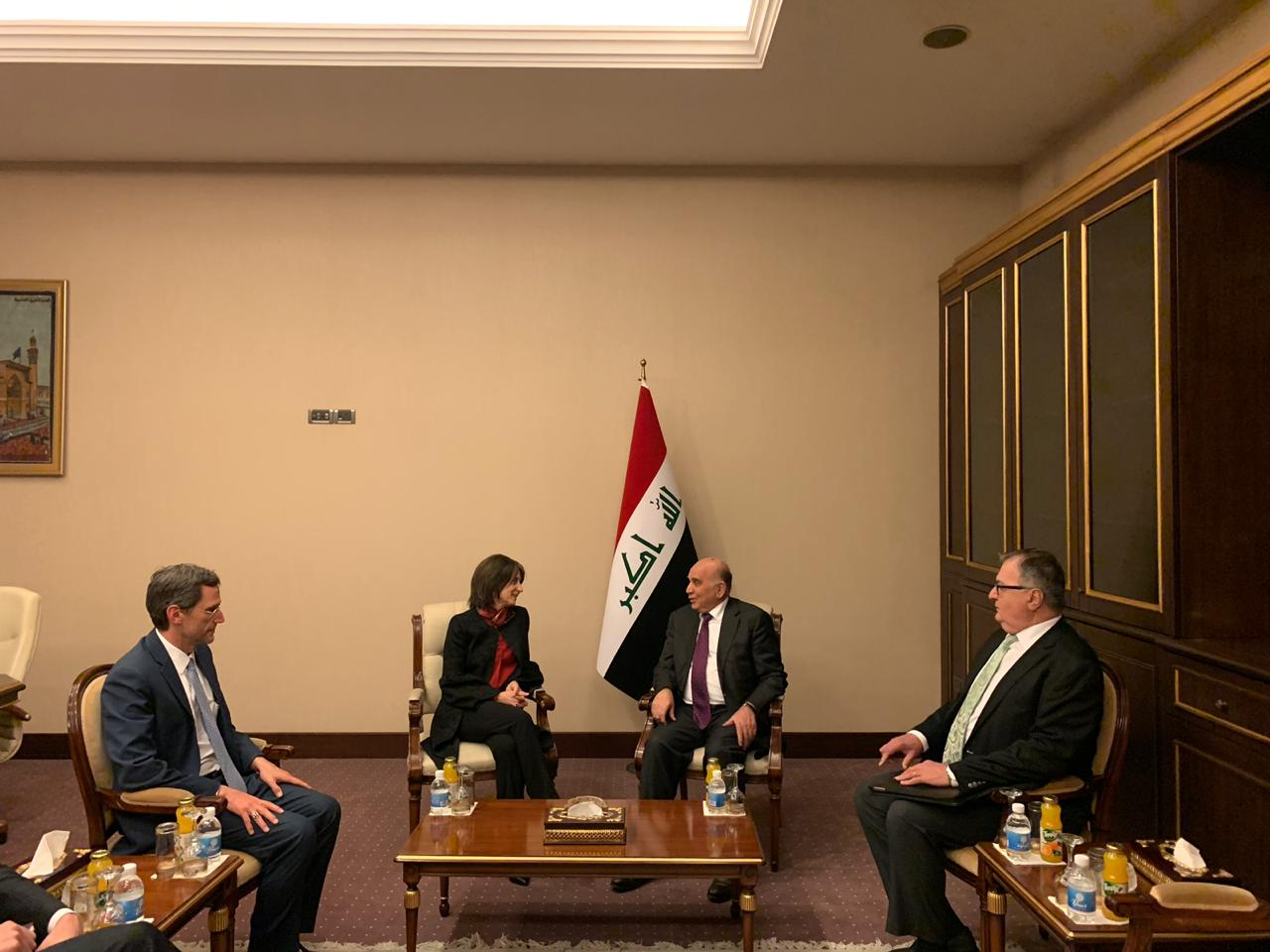 Saleh confirms Iraq's determination to strengthen relations with America WhatsApp%20Image%202019-03-05%20at%2011.00.50%20PM