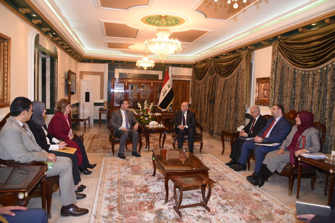 Deputy Prime Minister for Economic Affairs and Minister of Finance receives the head of the media network and a delegation from the network A0f9936e-0508-49fd-9d04-e134ae10c927