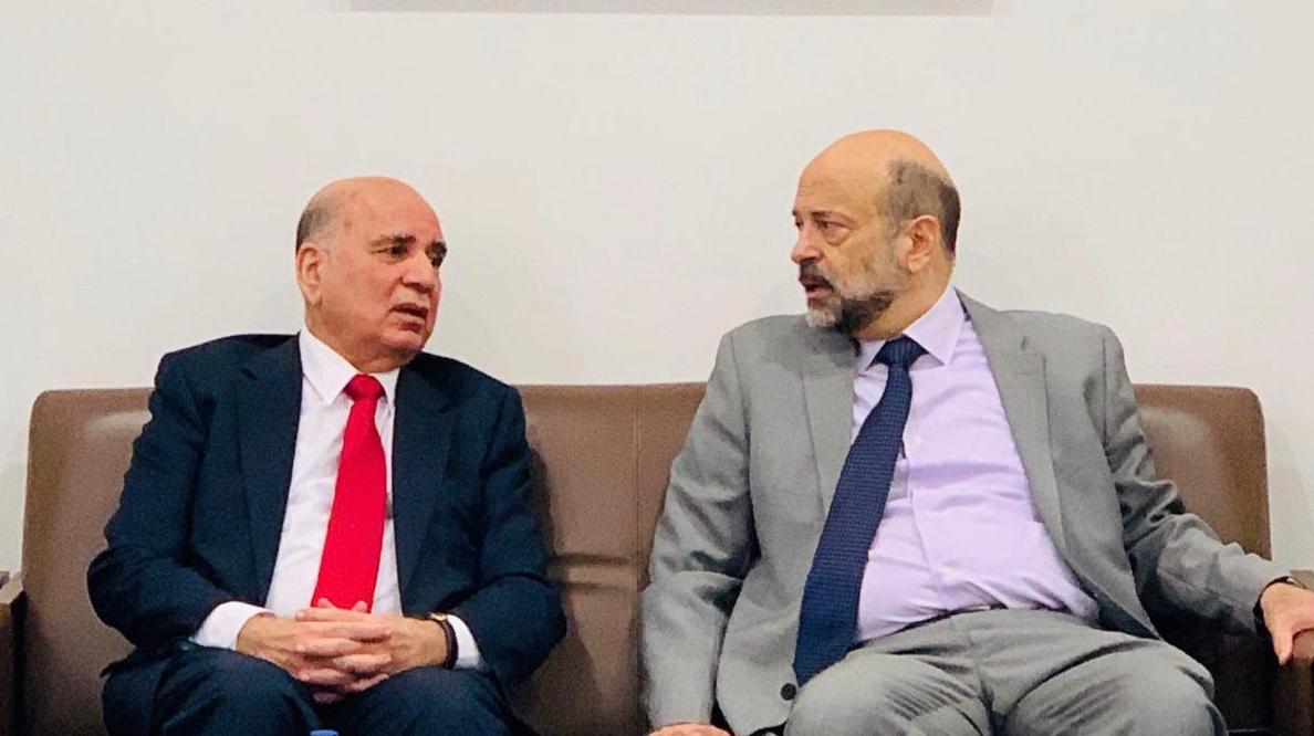 Deputy Prime Minister for Economic Affairs and Minister of Finance Mr. Fouad Hussein participates in the Digital Forum for the Arab Mashreq Countries in the Jordanian capital Amman E14254e4-5e7b-4bca-adac-388e0bcea6ae